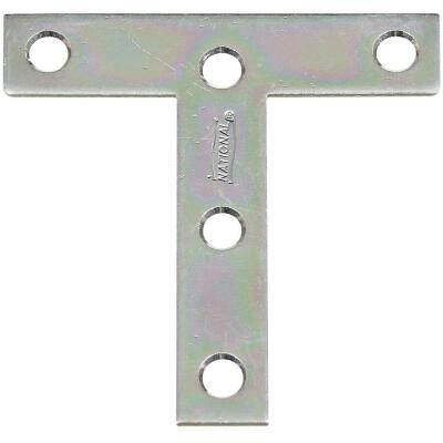 "National 3"" x 3"" Zinc T-Plate, (2-Pack)"