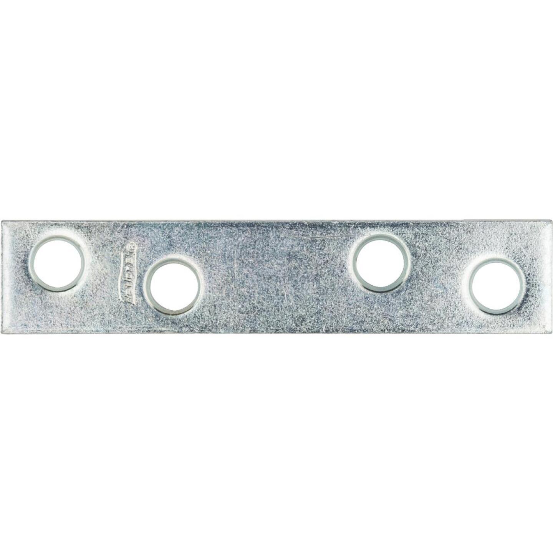 National Catalog 118 3 In. x 5/8 In. Zinc Steel Mending Brace Image 1