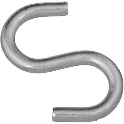 National 3 In. Zinc Heavy Open S Hook