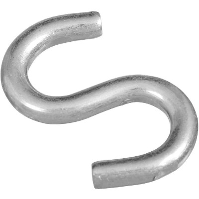 National 2 In. Zinc Heavy Open S Hook (2 Ct.)