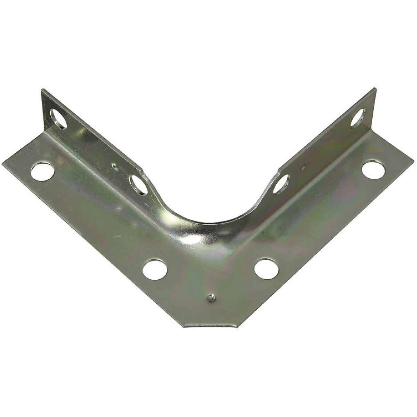 National Catalog V114 Series 3 In. x 5/8 In. Zinc Corner Brace (4-Count) Image 1