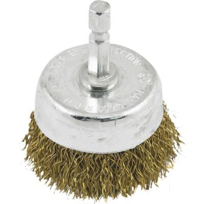 Do it 1-1/2 In. Fine Drill-Mounted Wire Brush