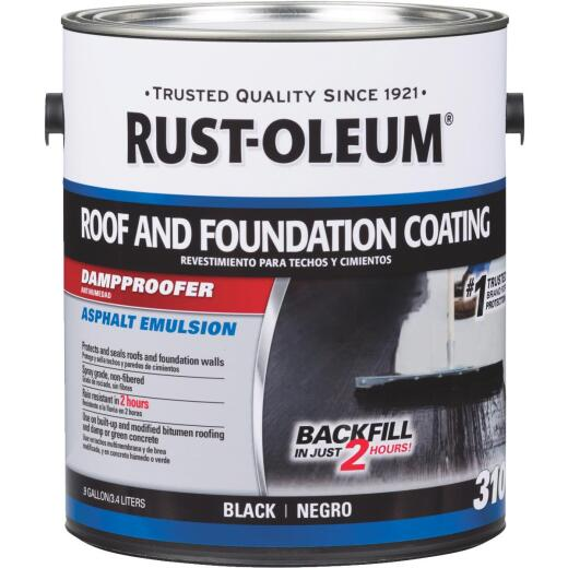 Rust-Oleum 310 1 Gal. Roof and Foundation Coating