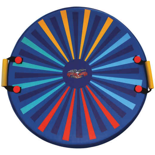 Flexible Flyer 26 In. Dia. Blue Foam Saucer Sled